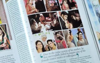 pakistnai photographer portfolio in magazine
