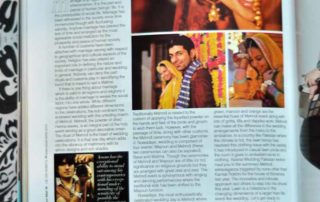 pakistani wedding shoot in asiana wedding magazine