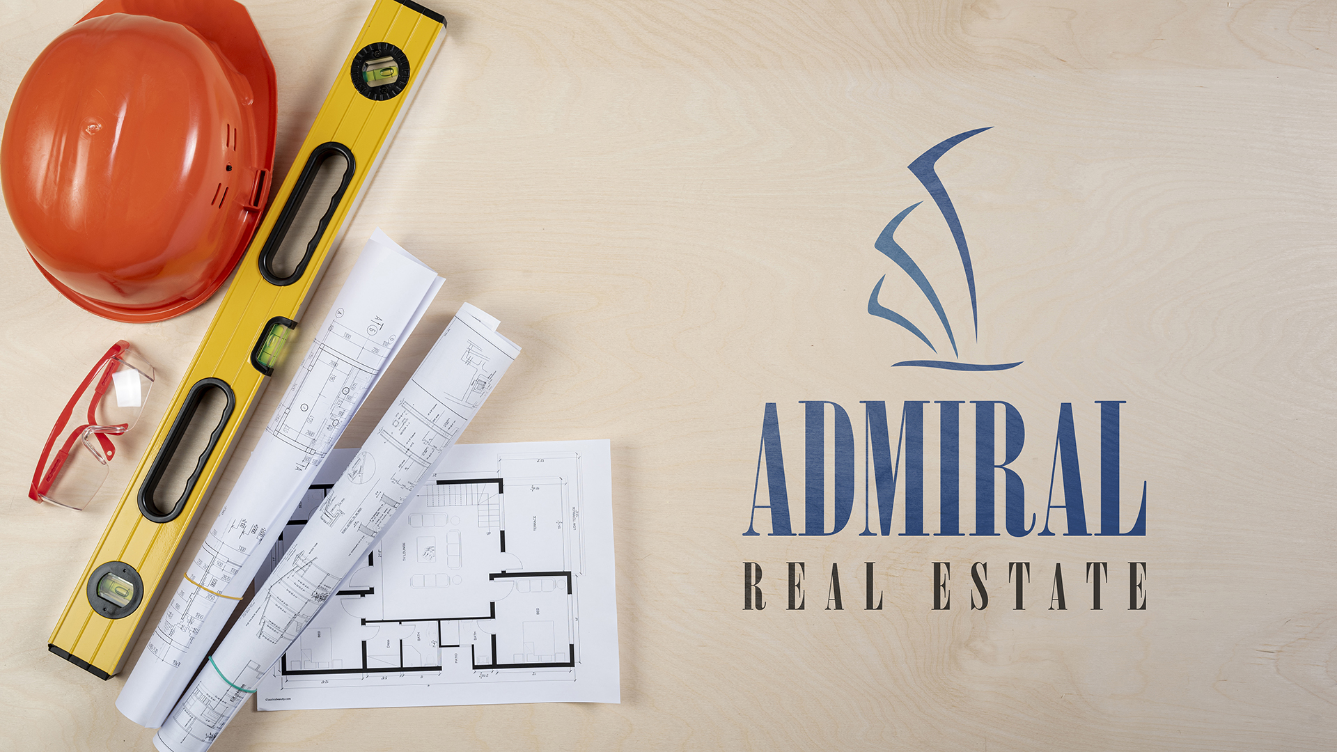 admiral real estate logo mockup made by assam artist
