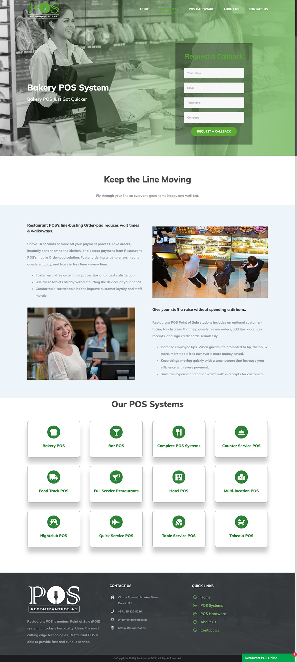 bakery pos design
