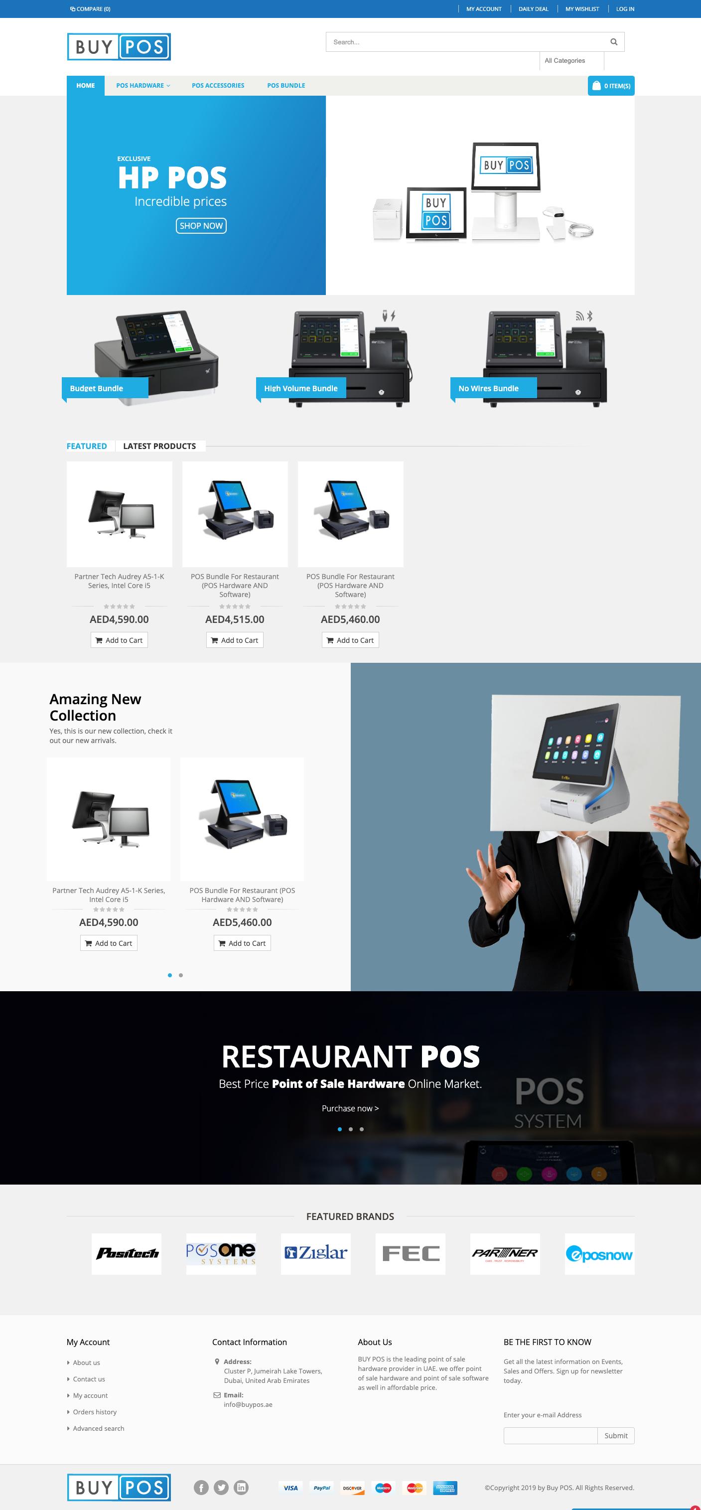 buypos home page design