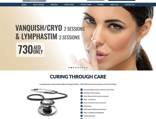 Armada Hospital Web Design