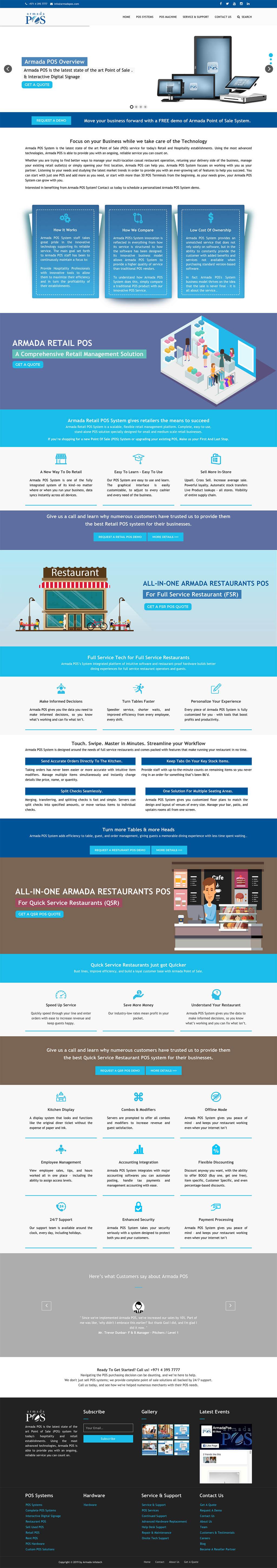 armada pos home page