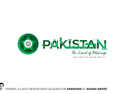 Pakistan Tourism Symbol, Logo and Slogan Design