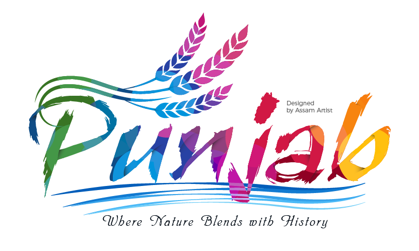 Punjab tourism logo with transparent background