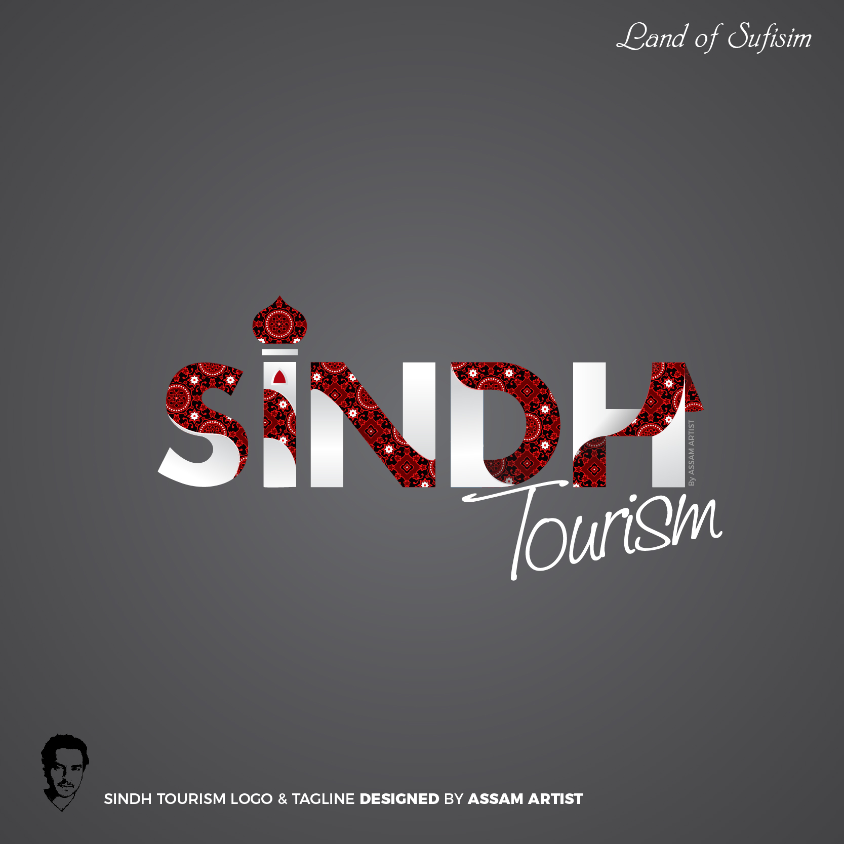 Sindh Tourism Logo of pakistan