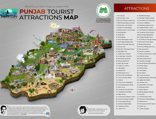 Punjab Tourist Map
