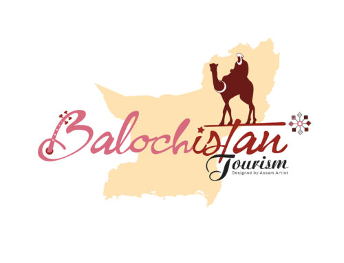 Balochistan Tourism Logo Introduce by Assam Artist