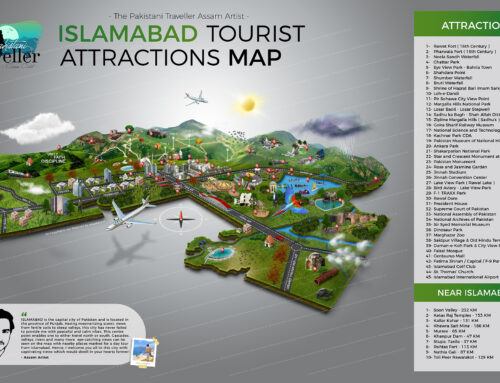 Islamabad Tourist Map