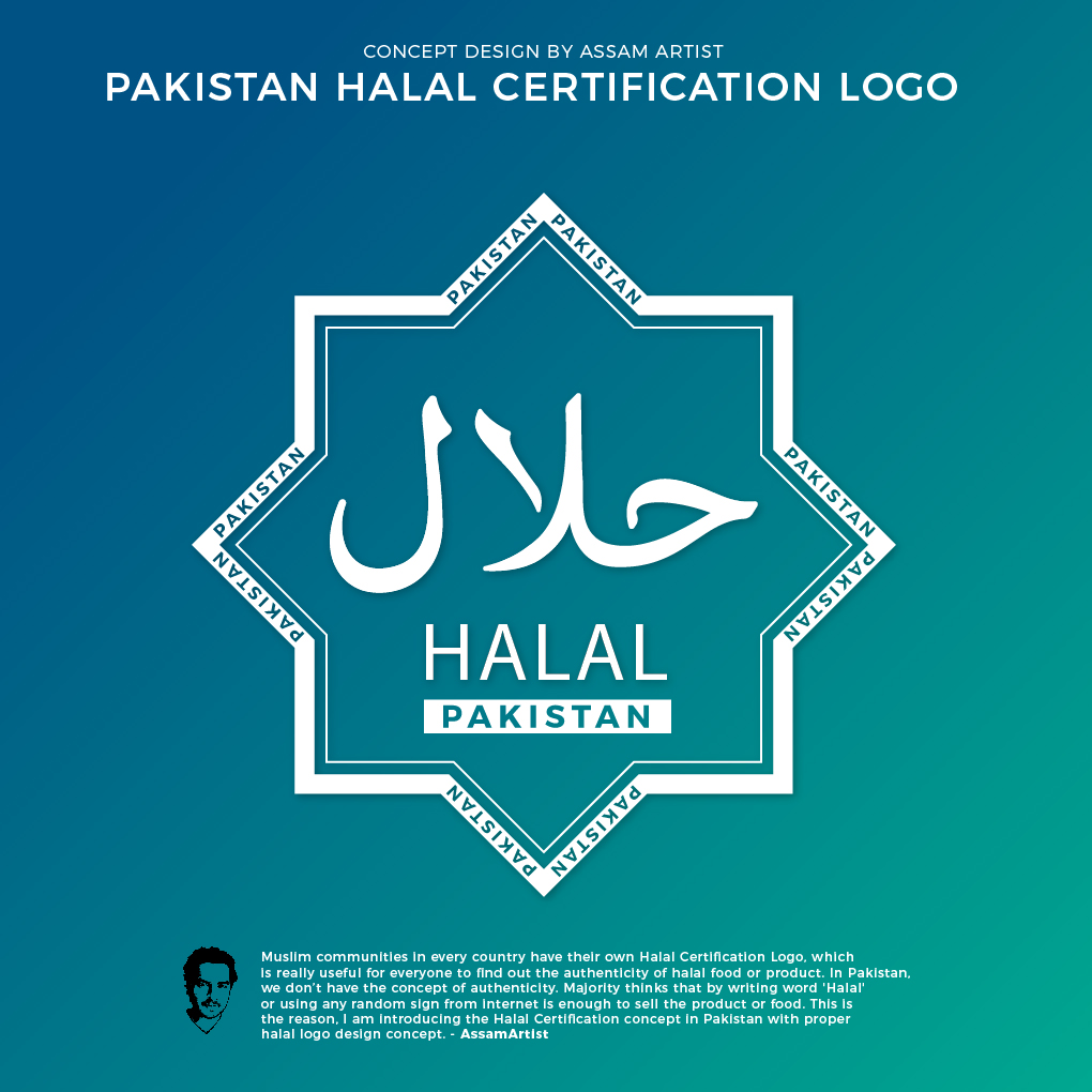pakistan halal food logo